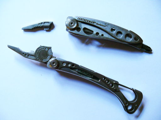 Leatherman zerbrochen