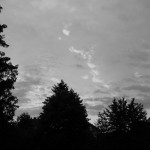 Sonnenaufgang Entsättigt - s/w