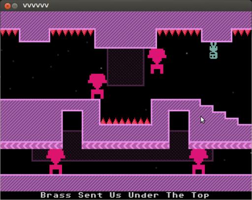 VVVVVV - im Labyrinth