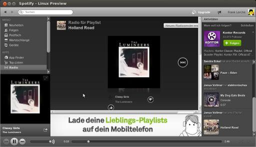 Spotify-Linux-Client